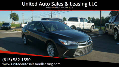 2017 Toyota Camry for sale at United Auto Sales & Leasing LLC in La Vergne TN