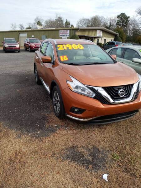 2016 Nissan Murano for sale at IDEAL IMPORTS WEST in Rock Hill SC