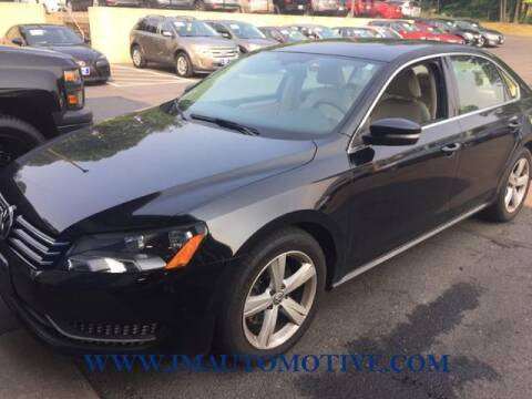 2012 Volkswagen Passat for sale at J & M Automotive in Naugatuck CT