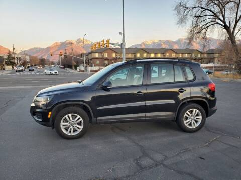 2016 Volkswagen Tiguan for sale at UTAH AUTO EXCHANGE INC in Midvale UT