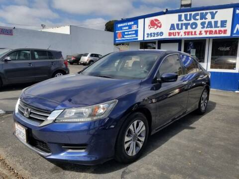 2014 Honda Accord for sale at Lucky Auto Sale in Hayward CA
