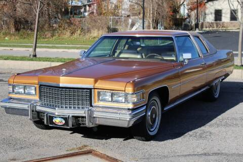 1976 Cadillac DeVille for sale at Great Lakes Classic Cars in Hilton NY
