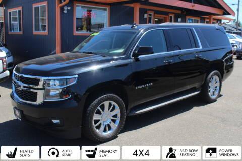 2015 Chevrolet Suburban for sale at Sabeti Motors in Tacoma WA