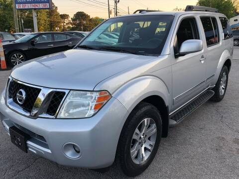 2011 Nissan Pathfinder for sale at Capital Motors in Raleigh NC