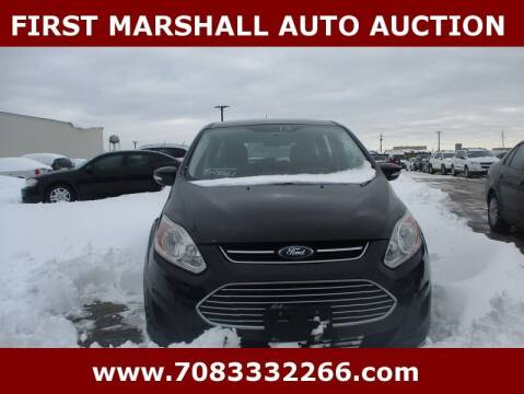 2013 Ford C-MAX Hybrid for sale at First Marshall Auto Auction in Harvey IL