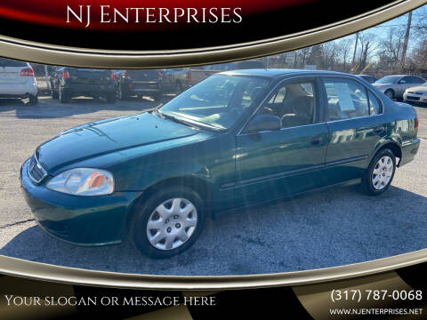 1999 Honda Civic for sale at NJ Enterprises in Indianapolis IN