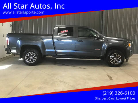 2015 GMC Canyon for sale at All Star Autos, Inc in La Porte IN