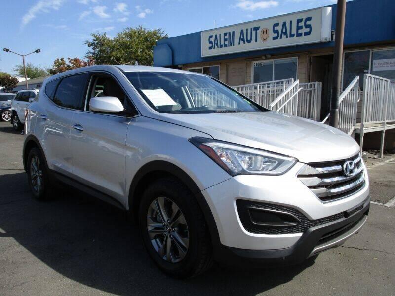 2014 Hyundai Santa Fe Sport for sale at Salem Auto Sales in Sacramento CA