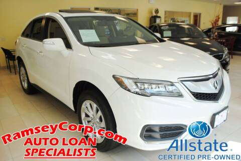 2016 Acura RDX for sale at Ramsey Corp. in West Milford NJ