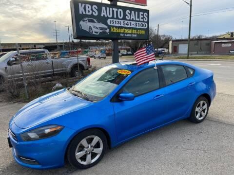 2015 Dodge Dart for sale at KBS Auto Sales in Cincinnati OH