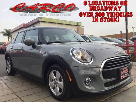 2020 MINI Hardtop 4 Door for sale at CARCO SALES & FINANCE in Chula Vista CA
