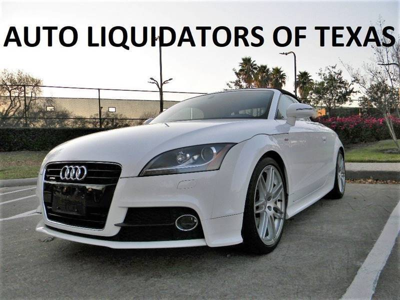 2012 Audi TT for sale at AUTO LIQUIDATORS OF TEXAS in Richmond TX