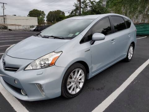 2014 Toyota Prius v for sale at Eden Cars Inc in Hollywood FL