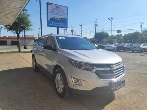 2019 Chevrolet Equinox for sale at Magic Auto Sales in Dallas TX