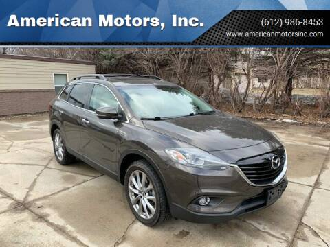 2015 Mazda CX-9 for sale at American Motors, Inc. in Farmington MN