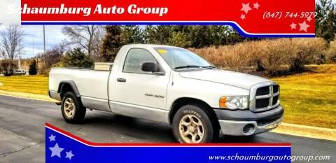 2003 Dodge Ram Pickup 1500 for sale at Schaumburg Auto Group in Schaumburg IL