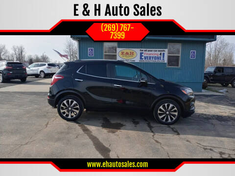 2017 Buick Encore for sale at E & H Auto Sales in South Haven MI