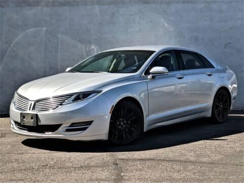 2014 Lincoln MKZ for sale at Divine Motors in Las Vegas NV