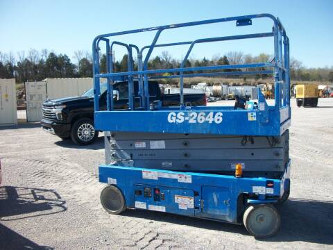 2013 Genie GS2646 Scissorlift for sale at Classics Truck and Equipment Sales in Cadiz KY