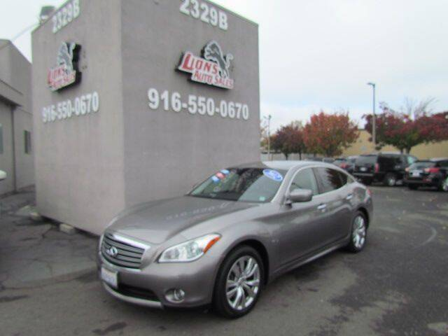 2012 Infiniti M35h for sale at LIONS AUTO SALES in Sacramento CA