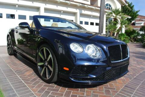 2017 Bentley Continental for sale at Newport Motor Cars llc in Costa Mesa CA