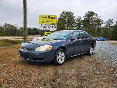 2009 Chevrolet Impala for sale at Lewis Motors LLC in Deridder LA
