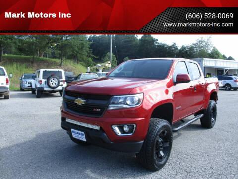 2015 Chevrolet Colorado for sale at Mark Motors Inc in Gray KY