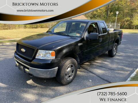 2006 Ford F-150 for sale at Bricktown Motors in Brick NJ