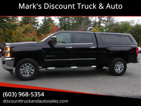 2016 Chevrolet Silverado 3500HD for sale at Mark's Discount Truck & Auto in Londonderry NH