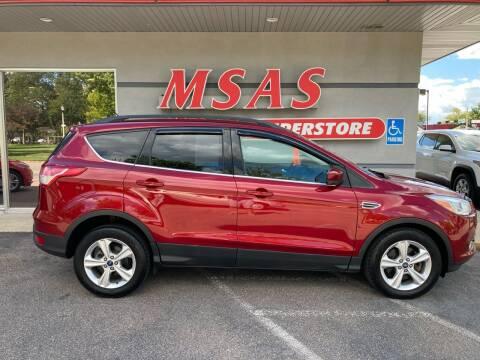 2014 Ford Escape for sale at MSAS AUTO SALES in Grand Island NE