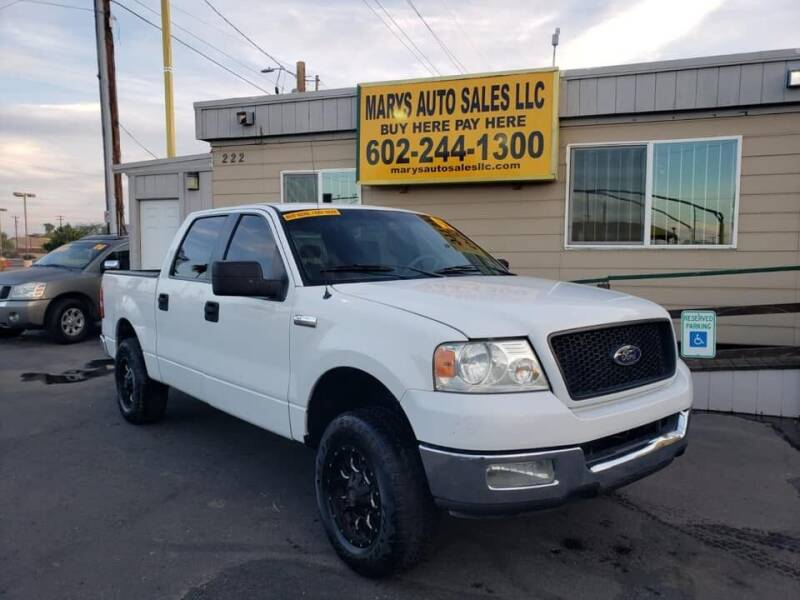 2005 Ford F-150 for sale at Marys Auto Sales in Phoenix AZ