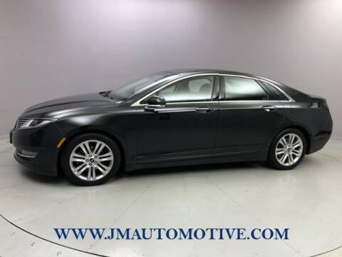 2013 Lincoln MKZ for sale at J & M Automotive in Naugatuck CT