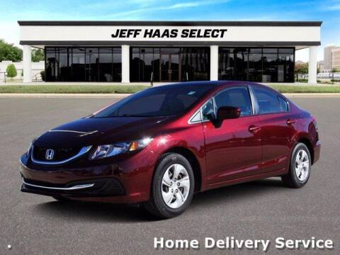 2015 Honda Civic for sale at JEFF HAAS MAZDA in Houston TX