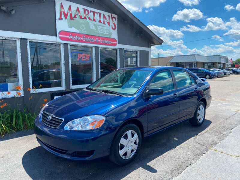 2008 Toyota Corolla for sale at Martins Auto Sales in Shelbyville KY