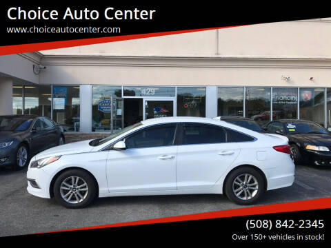2016 Hyundai Sonata for sale at Choice Auto Center in Shrewsbury MA