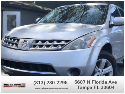 2007 Nissan Murano for sale at Drive Now Motors USA in Tampa FL