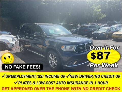 2014 Dodge Durango for sale at AUTOFYND in Elmont NY