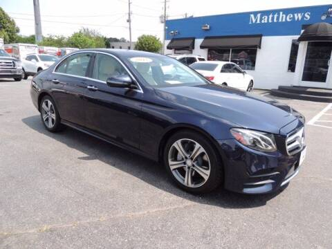 2017 Mercedes-Benz E-Class for sale at Auto Finance of Raleigh in Raleigh NC