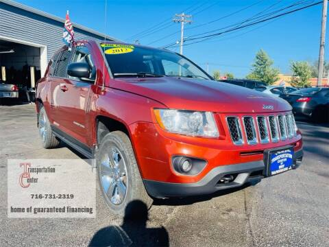 2012 Jeep Compass for sale at Transportation Center Of Western New York in Niagara Falls NY