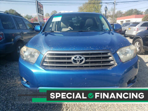 2008 Toyota Highlander for sale at RMB Auto Sales Corp in Copiague NY