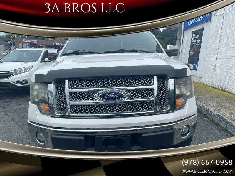 2010 Ford F-150 for sale at 3A BROS LLC in Billerica MA