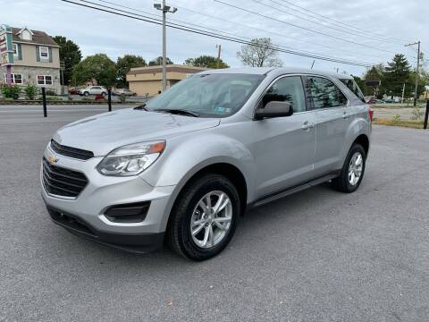 2017 Chevrolet Equinox for sale at M4 Motorsports in Kutztown PA