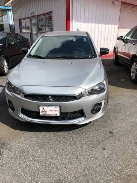 2017 Mitsubishi Lancer for sale at LAKE CITY AUTO SALES in Forest Park GA