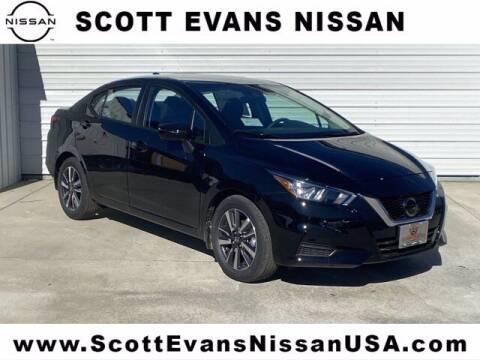 2021 Nissan Versa for sale at Scott Evans Nissan in Carrollton GA