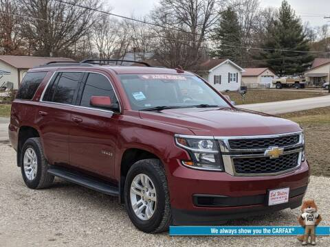 2016 Chevrolet Tahoe for sale at Bob Walters Linton Motors in Linton IN