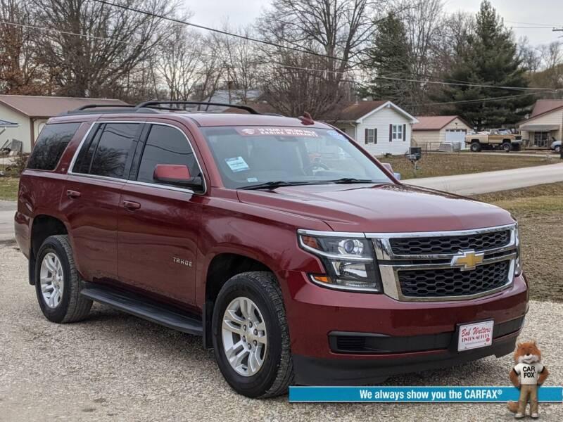 2016 Chevrolet Tahoe for sale at Bob Walters Linton Motors in Linton IN