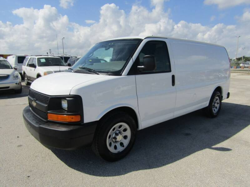 2013 Chevrolet Express Cargo for sale at AML AUTO SALES - Cargo Vans in Opa-Locka FL