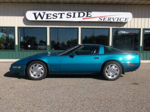 1996 Chevrolet Corvette for sale at West Side Service in Auburndale WI