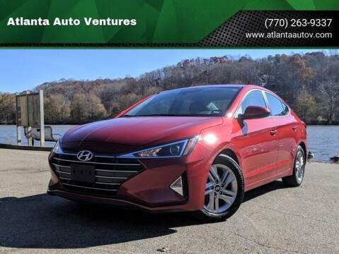 2019 Hyundai Elantra for sale at Atlanta Auto Ventures in Roswell GA
