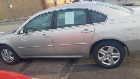 2007 Chevrolet Impala for sale at Bottom Line Auto Exchange in Upper Darby PA